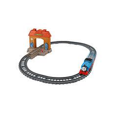"""Железная дорога 2 в 1 Fisher Price """"Томас и его друзья"""" Вокзал Mattel"""