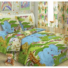 Детское постельное белье 1,5 сп. Letto, Джунгли