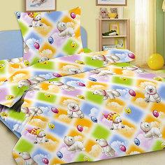 Детское постельное белье 3 предмета Letto, простыня на резинке, BGR-08
