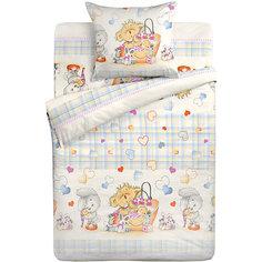 Детское постельное белье 3 предмета Letto, BG-71
