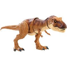 "Функциональная фигурка Jurassic World ""Атакующий Ти-рекс"" Mattel"