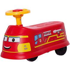 """Машинка-каталка """"Транспорт"""", красная Qunxing Tongzhile"""