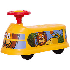 "Машинка-каталка ""Транспорт"", желтая Qunxing Tongzhile"