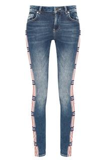 Голубые джинсы с лампасами Zoe Karssen