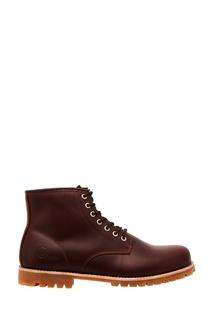 Высокие бордовые ботинки Affex