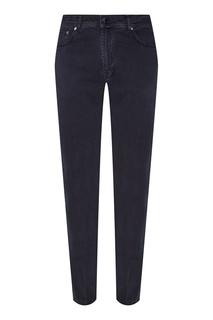 Укороченные синие джинсы Kiton