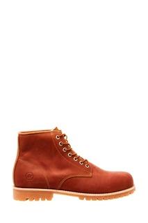 Коричневые ботинки из нубука Affex