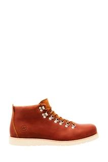 Коричневые ботинки с контрастной подкладкой Affex