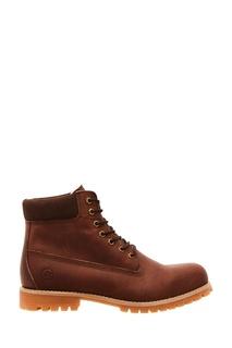 Коричневые ботинки Affex