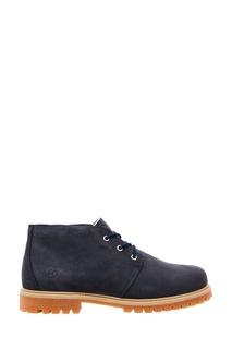 Низкие синие ботинки Affex