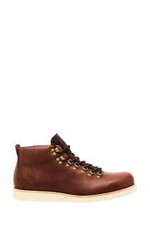 Кожаные ботинки с мехом Affex