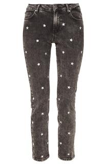 Черные джинсы с заклепками Zoe Karssen