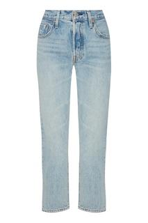 Голубые джинсы с высокой посадкой Levis®