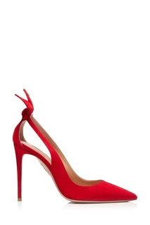 Красные туфли Deneuve Pump 105 Aquazzura