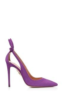 Фиолетовые туфли Deneuve Pump 105 Aquazzura