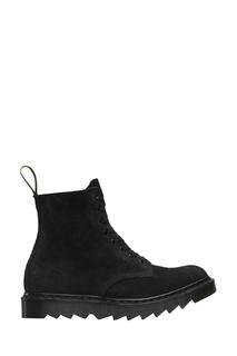 Высокие замшевые ботинки на шнуровке Dr.Martens