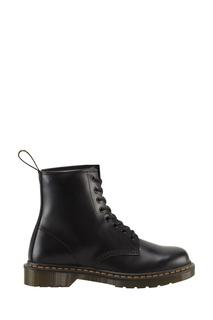 Высокие черные ботинки на двуцветной подошве Dr.Martens