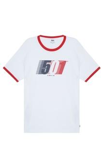 Белая футболка с принтом Levis®
