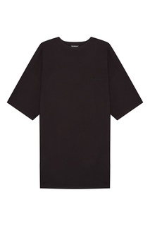 Черная футболка из хлопка Balenciaga