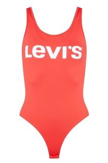 Красное боди с логотипом Levis®