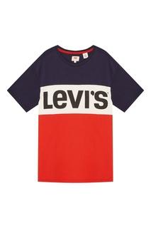 Футболка из хлопка с логотипом Levis®