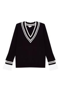 Пуловер с контрастной отделкой Claudie Pierlot