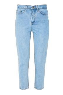 Голубые выбеленные джинсы D.O.T.127