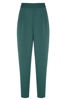 Укороченные зеленые брюки Adolfo Dominguez