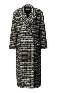 Двубортное пальто Izeta
