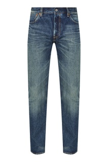 Синие джинсы с потертостями Levis®