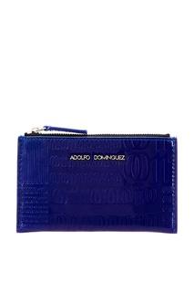 Синий кошелек с отделкой Adolfo Dominguez
