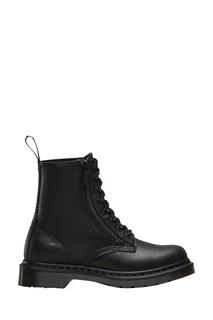 Высокие черные ботинки на шнуровке Dr.Martens