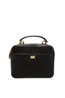Черная сумка Crossbodies из кожи Michael Michael Kors