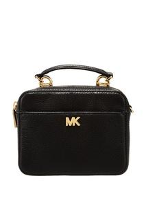 Черная сумка Crossbodies с логотипом Michael Michael Kors