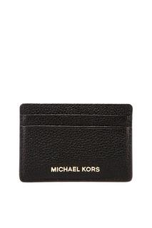 Черная визитница Money Pieces Michael Michael Kors