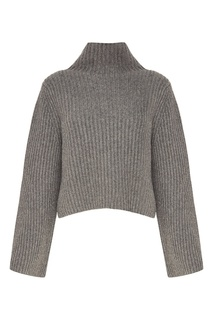 Серый свитер с широкими рукавами Stella Mc Cartney
