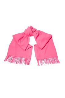 Розовый шерстяной шарф Acne Studios