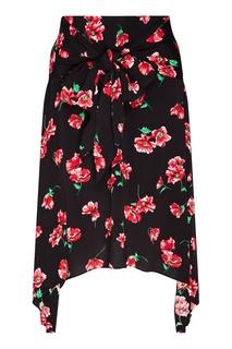 Юбка с цветочным принтом Mo&Co