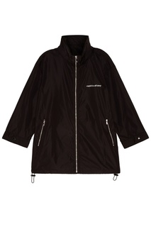 Черная куртка на молнии Mo&Co