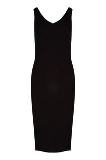 Черное облегающее платье Mo&Co
