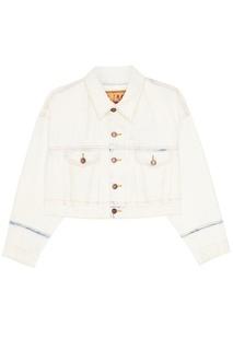 Куртка из выбеленного денима Marc Jacobs