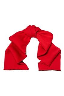 Красно-коричневый шарф Gucci