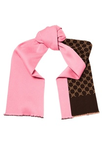 Двухсторонний шарф Gucci