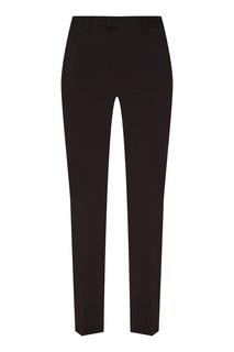 Зауженные черные брюки RED Valentino