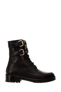 Черные ботинки с отделкой RED Valentino