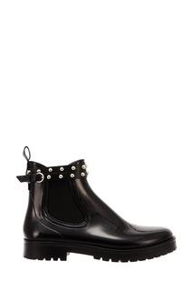 Резиновые ботинки с заклепками RED Valentino