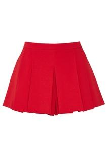 Красные мини-шорты RED Valentino
