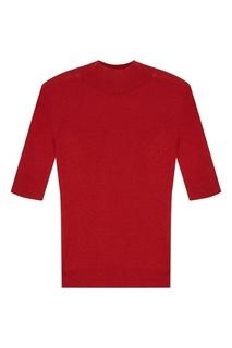 Красный джемпер с короткими рукавами RED Valentino