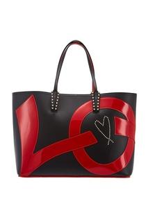 Черная сумка Cabata Christian Louboutin