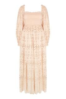 Ажурное платье из хлопка Zimmermann